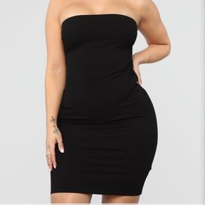 Back To The Laces Tube - Mini Dress